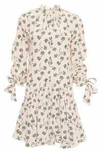 Prada Mimosa Crepe Dress