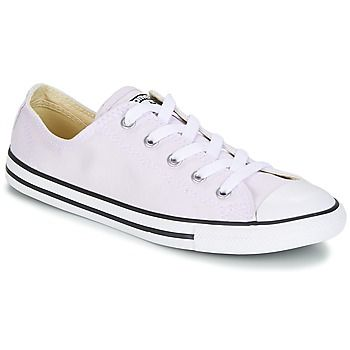 Converse  Chuck Taylor All Star Dainty Ox Canvas Color  women's Shoes (Trainers) in Purple