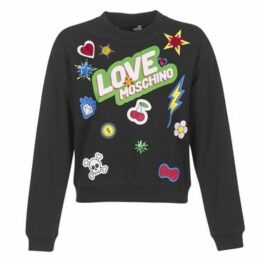Love Moschino  W630610  women's Sweatshirt in Black