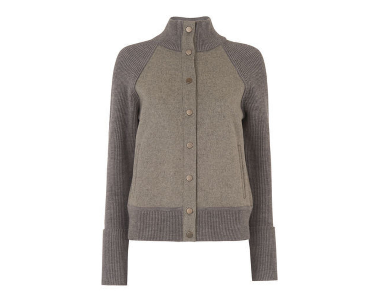 Knitted Boiled Wool Jacket