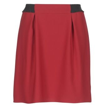 Naf Naf  KATIA  women's Skirt in Red