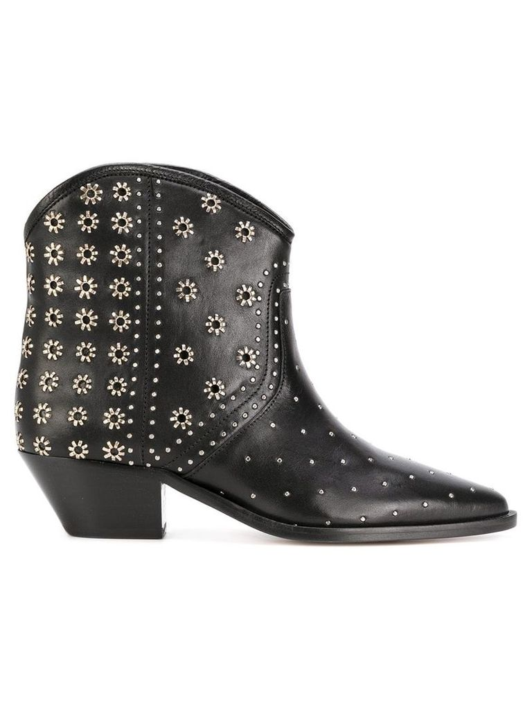 Isabel Marant studded Domya boots - Black