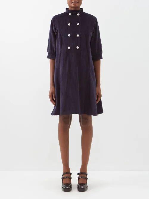 Marques'almeida - Safari Short Sleeved Shirt - Womens - Khaki