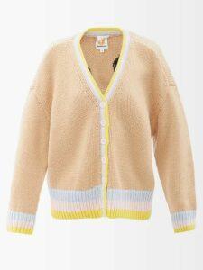 Valentino - Lipstick Print Silk Crepe Midi Skirt - Womens - Black Print