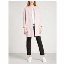 Casa brushed virgin wool coat