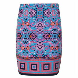 Versace Collection Woven Midi Skirt