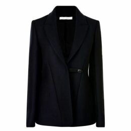 Victoria Beckham Fluid Wool Blazer