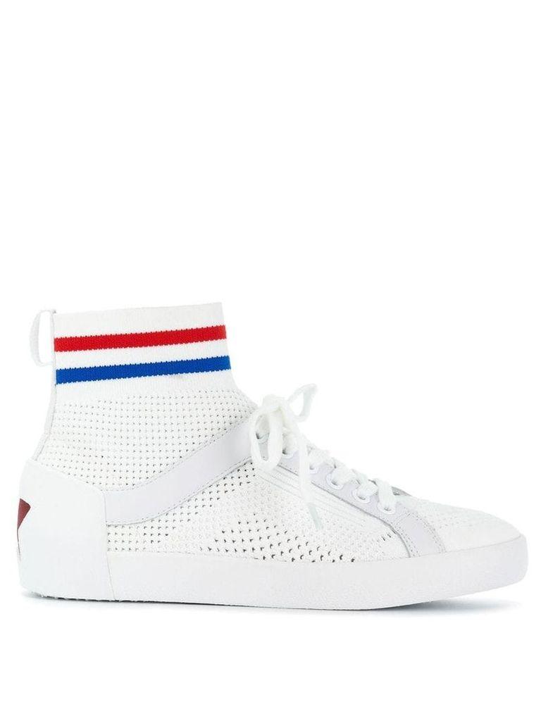 Ash Ninja knit sneakers - White
