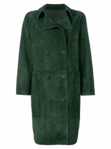 Golden Goose Nives double breasted coat - Green