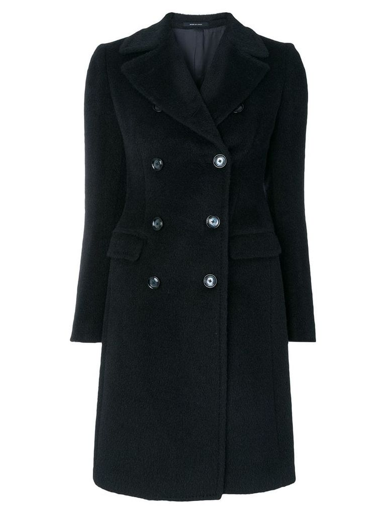 Tagliatore double breasted coat - Blue