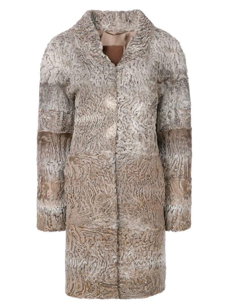 Liska Beatrice coat - Brown