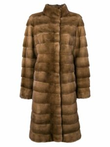 Liska Valencia fur coat - Brown