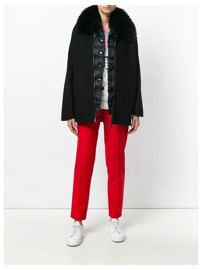 Moncler Buxus coat - Black