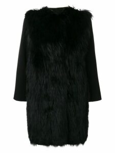 Simonetta Ravizza Poline coat - Black