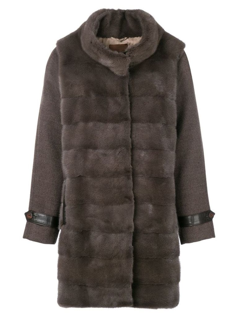 Liska Merkur coat - Grey