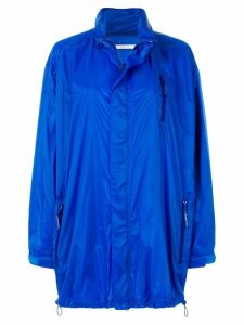 Givenchy long line oversized coat - Blue