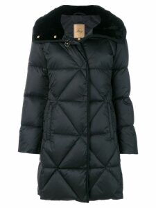 Fay quilted padded parka - Black