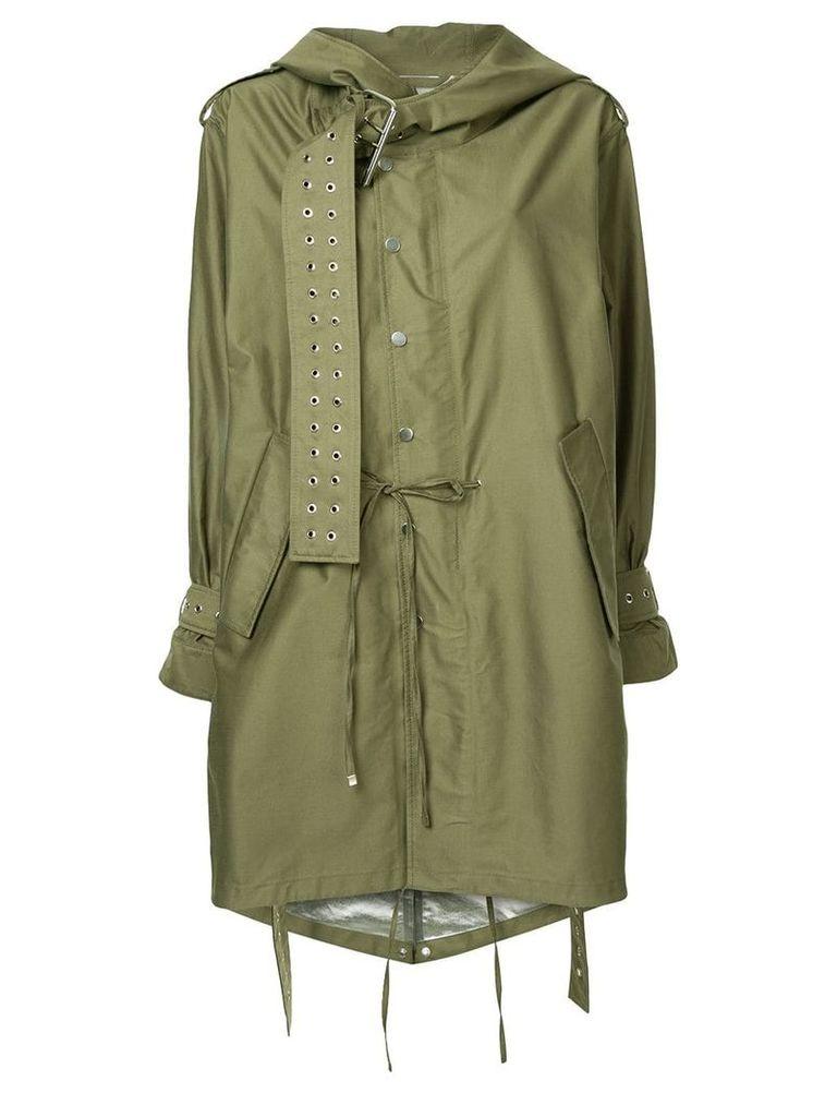 Monse military style parka - Green