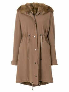 Liska hooded parka - Brown