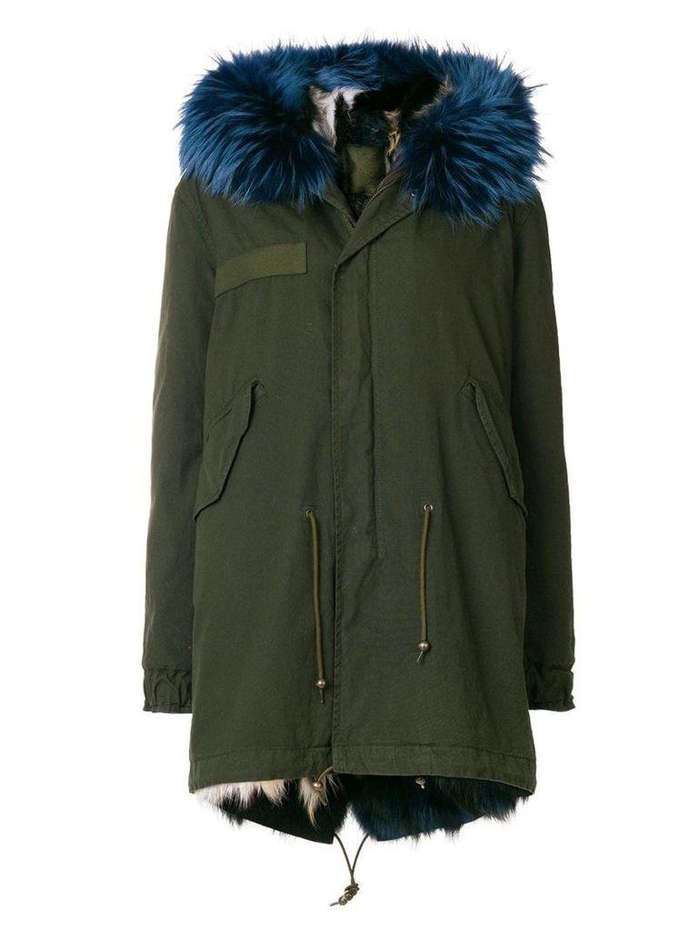 Mr & Mrs Italy fur trim parka - Green