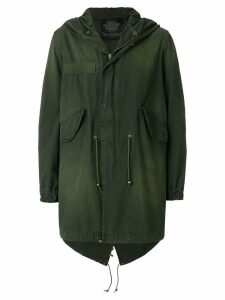 Mr & Mrs Italy classic midi parka - Green