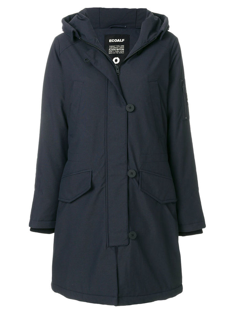 Ecoalf parka coat - Blue