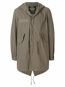 Mr & Mrs Italy midi parka coat - Green