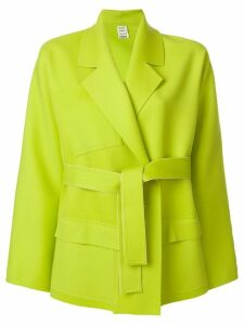 Maison Rabih Kayrouz belted short coat - Green