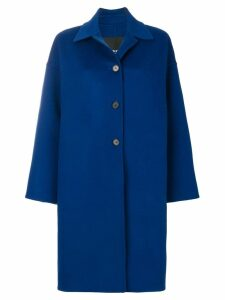 Calvin Klein 205W39nyc three buttoned coat - Blue