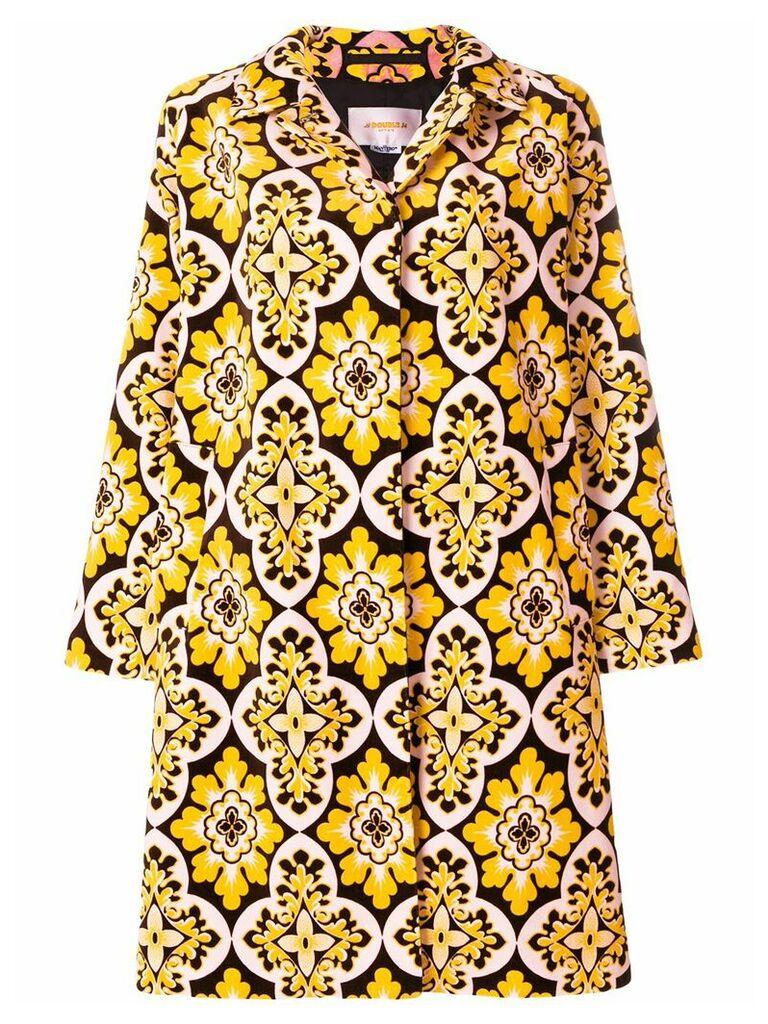 La Doublej velvet loden coat - Yellow