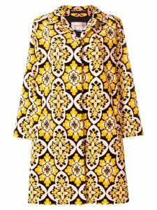 La Doublej velvet loden coat - Yellow