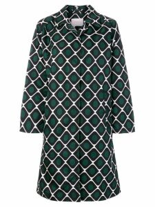 La Doublej printed pattern coat - Green