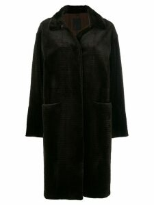 Liska fur cord coat - Brown