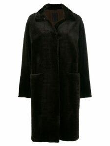 Liska fur cord coat - Brown