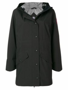 Canada Goose hooded coat - Black