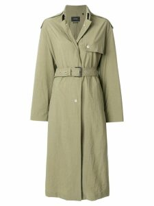 Isabel Marant Lawney coat - Green