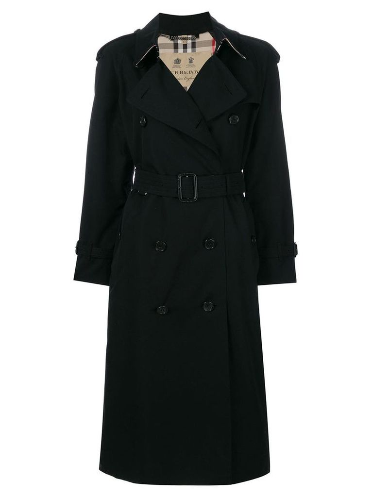 Burberry The Westminster - Extra-long Trench Coat - Black