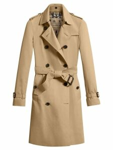 Burberry The Kensington - Long Trench Coat - Neutrals