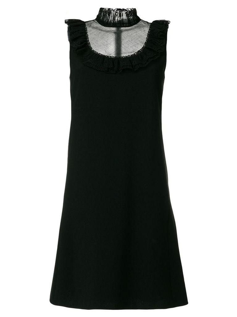 Chloé sleeveless high neck dress - Black