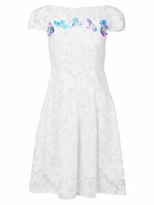 Talbot Runhof Noix3 dress - White