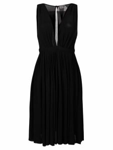 Nº21 plunge neck dress - Black