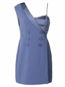 Three Floor Take Shape off shoulder blazer dress - Blue