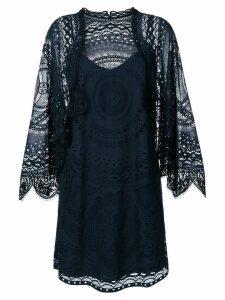 Chloé lace shift dress - Blue