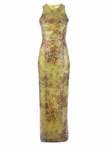 Galvan Miraflores tube dress - Green