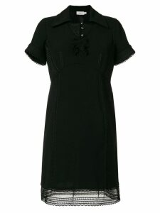 Coach spread collar dress - Black