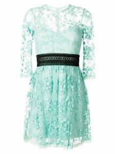 Three Floor Reflection lace empire dress - Green