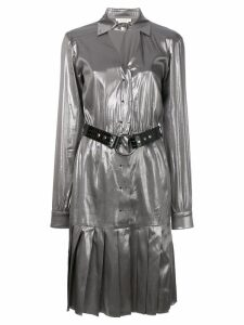 1017 ALYX 9SM pleated dress - Metallic