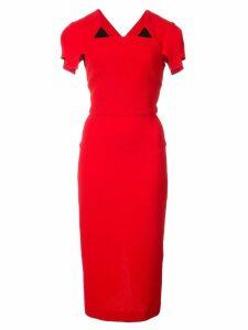 Roland Mouret Royston dress - Red