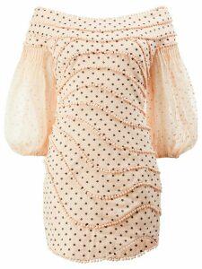 Zimmermann polka dots mini dress - Pink