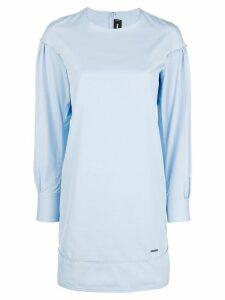Dsquared2 long sleeve shift dress - Blue